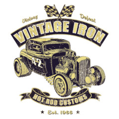 Vintage Iron Hot Rod Customs