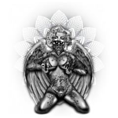 Marilyn - Guns, Tattoos, Wings