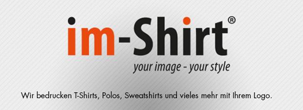 Im-Shirt - Wir bedrucken T-Shirt, Polos, Sweatshirts und vieles mehr mit Ihrem Logo oder Ihrer Idee. T-Shirt Druck Dresden Neustadt.
